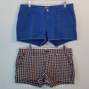 Bundle of TWO Pairs of Old Navy Shorts sz 8